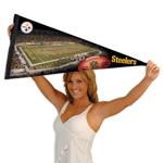 Wincraft Pittsburgh Steelers Premium Felt Stadium Pennant