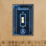 The Memory Company Toronto Argonauts Single Art Glass Light Switch Plate Cover