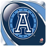 Hunter Toronto Argonauts Mouse Pad
