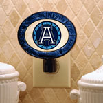 The Memory Company Toronto Argonauts Art Glass Night Light