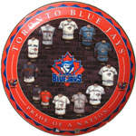 Hunter Manufacturing Toronto Blue Jays Ceramic Collector Plate