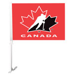 Fremont Die Team Canada Double Sided Car Flag