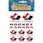 Hunter Manufacturing Team Canada Temporary Tattoos