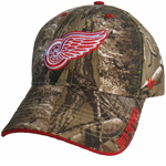 Detroit Red Wings Realtree Camo Frost Adjustable Hat by '47 Brand
