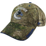 Vancouver Canucks Realtree Camo Frost Adjustable Hat by '47 Brand