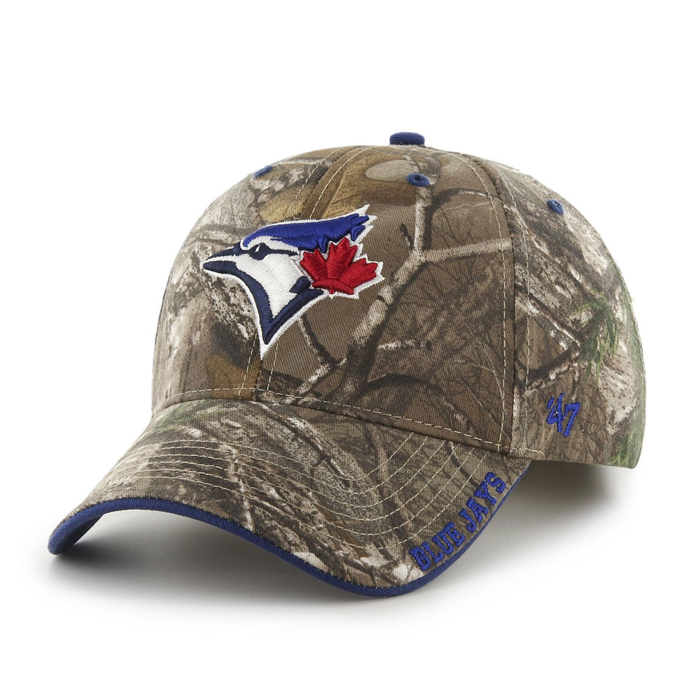 Toronto Blue Jays Realtree Camo Frost Adjustable Hat by '47 Brand
