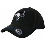 Toronto Blue Jays Black Flux Adjustable Hat by '47 Brand