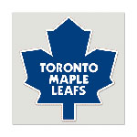 Toronto Maple Leafs 8''x8'' Color Die Cut Decal by Wincraft