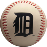 Rawlings Detroit Tigers Team Logo Baseball