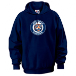 Majestic Detroit Tigers Cooperstown Collection Felt Tek Patch Hoody