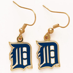 Wincraft Detroit Tigers Team Logo Dangle Earrings