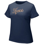 Nike Detroit Tigers Women's Authentic Crew Tee