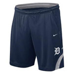 Nike Detroit Tigers Dri-Fit Training Shorts