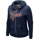 Nike Detroit Tigers Women's Classic Full-Zip Hoodie