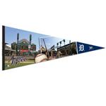 Wincraft Detroit Tigers Premium Felt Stadium Pennant