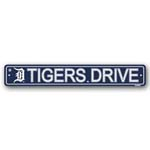 Fremont Die Detroit Tigers Plastic Street Sign
