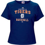 Majestic Detroit Tigers Women's AC Property of Tee