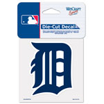 Wincraft Detroit Tigers 4''x4'' Color Die Cut Decal