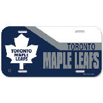 Toronto Maple Leafs Plastic License Plate by Wincraft