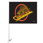 Future Product Sales Vancouver Canucks Vintage Skate Logo Double Sided Car Flag
