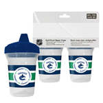 First Time Fan Vancouver Canucks 2-Pack 5oz. Sippy Cups