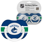 First Time Fan Vancouver Canucks 2-Pack Baby Pacifier Set
