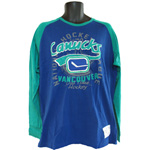 Old Time Hockey Vancouver Canucks Concord Long Sleeve T-Shirt