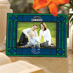 Vancouver Canucks Horizontal Art Glass Picture Frame by The Memory Company