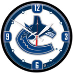 Wincraft Vancouver Canucks Round Wall Clock