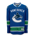 Reebok Vancouver Canucks Premier Replica Home NHL Hockey Jersey