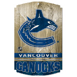 Wincraft Vancouver Canucks Wood Sign