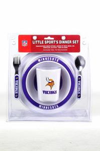Minnesota Vikings Infant Dinner Set