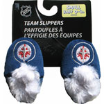 Forever Collectibles Winnipeg Jets Baby Bootie Slippers