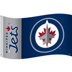Fremont Die Winnipeg Jets 3'x5' Flag