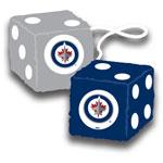 Fremont Die Winnipeg Jets Fuzzy Dice