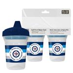 First Time Fan Winnipeg Jets 2-Pack 5oz. Sippy Cups