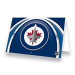 Hunter Manufacturing Winnipeg Jets Greeting Card