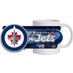 Hunter Manufacturing Winnipeg Jets 11oz. Sublimated Coffee Mug