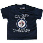 Mighty Mac Winnipeg Jets Newborn My First T-Shirt