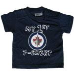 Mighty Mac Winnipeg Jets Newborn My First T-Shirt