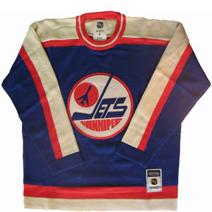 check out 6c910 8a9dd Reebok by CCM Winnipeg Jets 1980-81 Heritage Knit Sweater