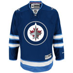 Reebok Winnipeg Jets Youth Premier Replica Home NHL Hockey Jersey