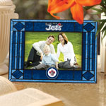 Winnipeg Jets Horizontal Art Glass Picture Frame by The Memory Company