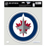 Wincraft Winnipeg Jets 8''x8'' Color Die Cut Decal