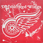 Forever Collectibles Detroit Red Wings Canvas Wall Logo