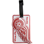 JF Sports Detroit Red Wings Luggage Tag