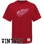 Retro Sport Detroit Red Wings Better Logo T-Shirt