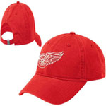 Reebok Detroit Red Wings Women's Adjustable Red Slouch Cap