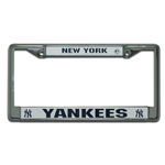 Rico Industries New York Yankees Metal License Plate Frame